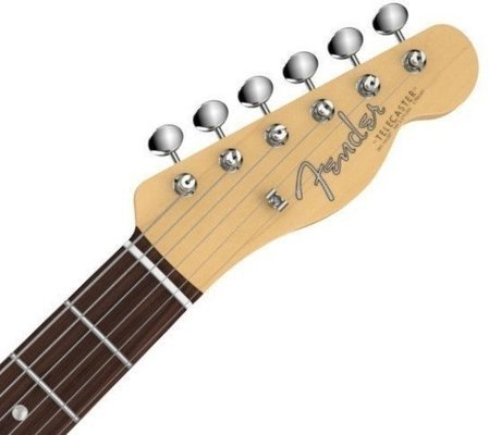 Fender American Vintage '64 Telecaster, Round-Lam Rosewood Fingerboard, Aged White Blonde