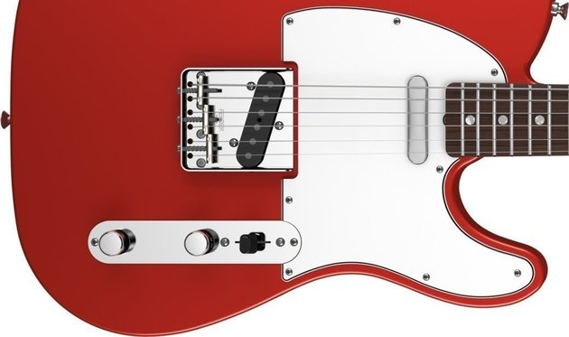 Fender American Vintage '64 Telecaster, Round-Lam Rosewood Fingerboard, Candy Apple Red