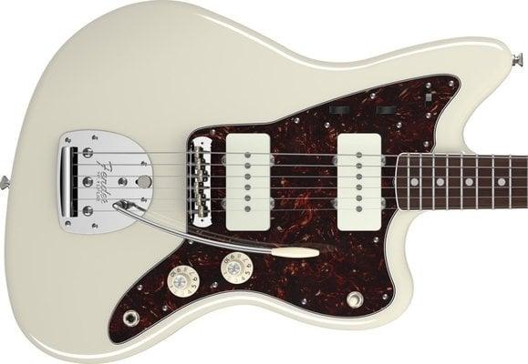 Fender American Vintage '65 Jazzmaster, Round-Lam Rosewood Fingerboard, Olympic White