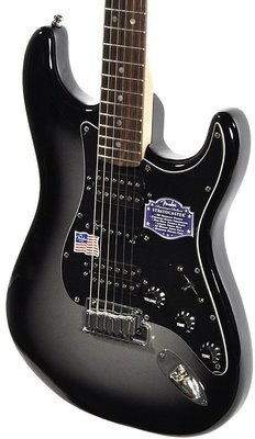 Fender American Deluxe Stratocaster HSH, Rosewood Fingerboard, Silverburst
