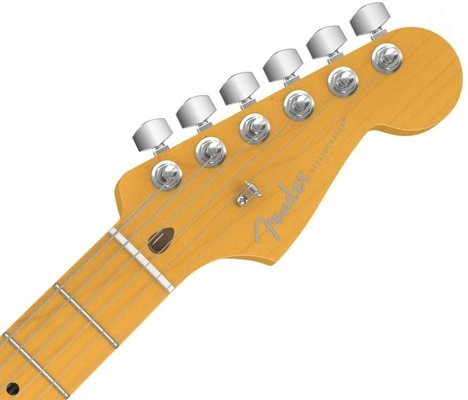 Fender American Deluxe Stratocaster V Neck, Maple Fingerboard, Surf Green