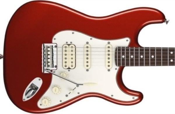 Fender American Standard Stratocaster HSS, Rosewood Fingerboard, Mystic Red