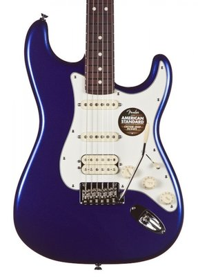 Fender American Standard Stratocaster HSS, Rosewood Fingerboard, Mystic Blue