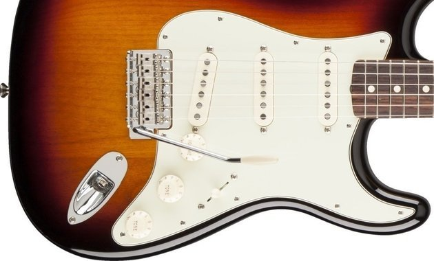 Fender Classic Series '60s Stratocaster Lacquer, Rosewood Fingerboard, 3-Color Sunburst