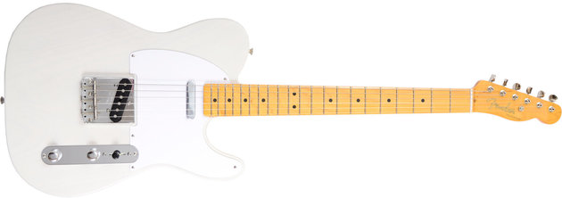 Fender Classic Series '50s Telecaster Lacquer, Maple Fingerboard, White Blonde