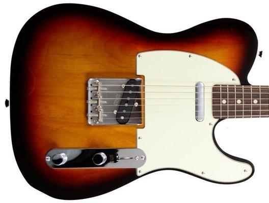 Fender Vintage '62 Telecaster w/Bound Edges, Rosewood Fingerboard, 3-Color Sunburst