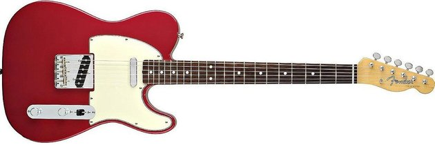 Fender Vintage '62 Telecaster w/Bound Edges, Rosewood Fingerboard, Candy Apple Red