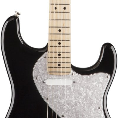 Fender Pawn Shop '70s Stratocaster Deluxe, Maple Fingerboard, Black