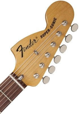 Fender Pawn Shop Super-Sonic, Rosewood Fingerboard, Dark Gunmetal Flake