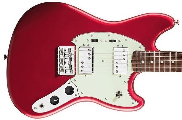Fender Pawn Shop Mustang Special, Rosewood Fingerboard, Candy Apple Red