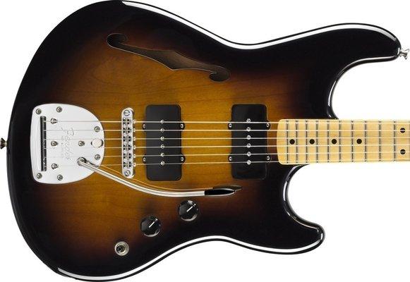 Fender Pawn Shop Offset Special, Maple Fingerboard, 2-Color Sunburst