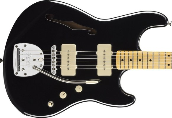 Fender Pawn Shop Offset Special, Maple Fingerboard, Black