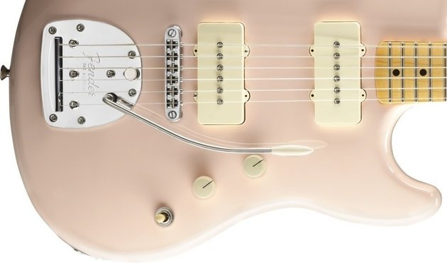 Fender Pawn Shop Offset Special, Maple Fingerboard, Shell Pink