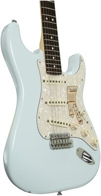 Fender Deluxe Roadhouse Stratocaster Rosewood Fingerboard, Sonic Blue