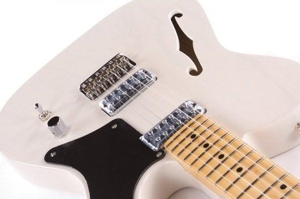 Fender Cabronita Telecaster Thinline, Maple Fingerboard, White Blonde