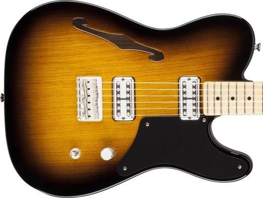 Fender Cabronita Telecaster Thinline, Maple Fingerboard, 2-Color Sunburst