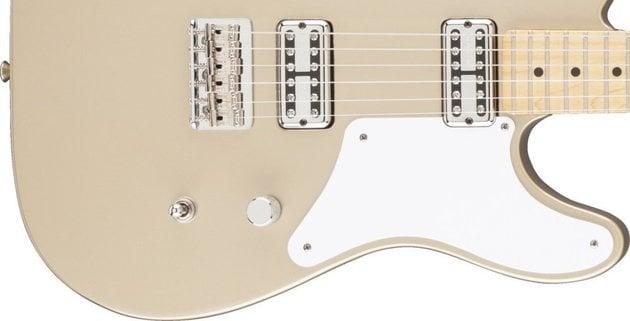 Fender Cabronita Telecaster Thinline, Maple Fingerboard, Shoreline Gold