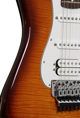 Fender Standard Stratocaster HSS Plus Top w/Locking Tremolo, Rosewood F-board, Tobacco Sunburst
