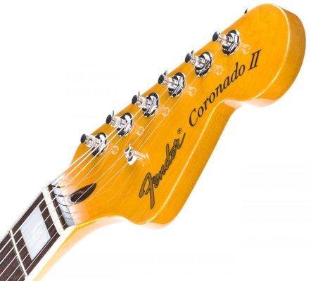 Fender Coronado, Rosewood Fingerboard, Black