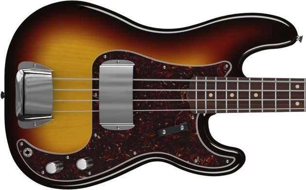 Fender American Vintage '63 Precision Bass, Rosewood Fingerboard, 3-Color Sunburst