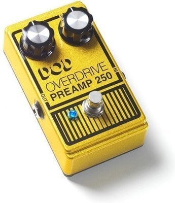 DOD 250 Overdrive True bypass Preamp Pedal