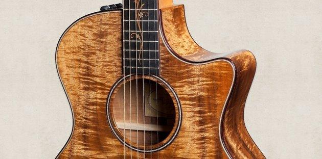 Taylor Guitars K24ce Grand Auditorium Acoustic Electric with Cutaway Koa