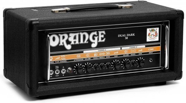 Orange Dual Dark 50W High-Gain Guitar Head Black