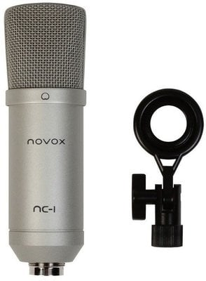 Novox NC-1 USB Cardioid Microphone Silver