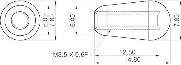 Partsland PBT-BLK-M3.5