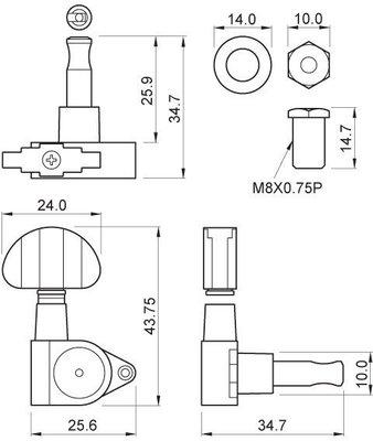 Partsland J103DLK-CR-R3L3