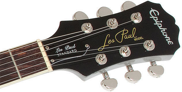Epiphone Les Paul Custom PRO TV Silver