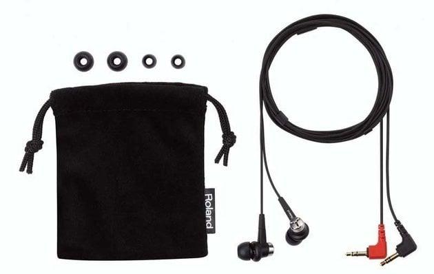 Roland CS 10EM Binaural Microphone earphones