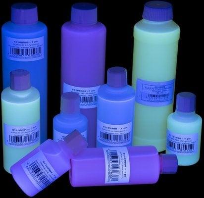 Eurolite UV stamping color 250 ml Blue