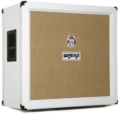 Orange PPC412 4 x 12 Closed Back Cabinet, Limited Edition White