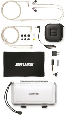 Shure SE846-CL Sound Isolating Earphones - Clear