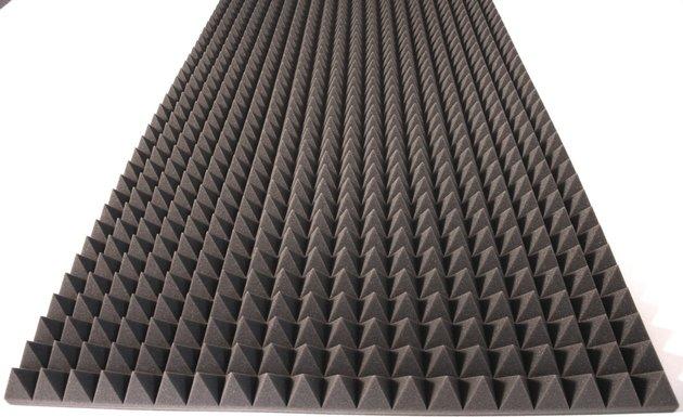 Alfacoustic Pyramids 7cm Fire Retardant
