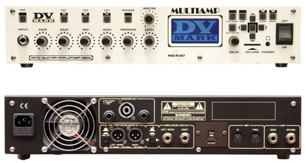 DV Mark Multiamp Black