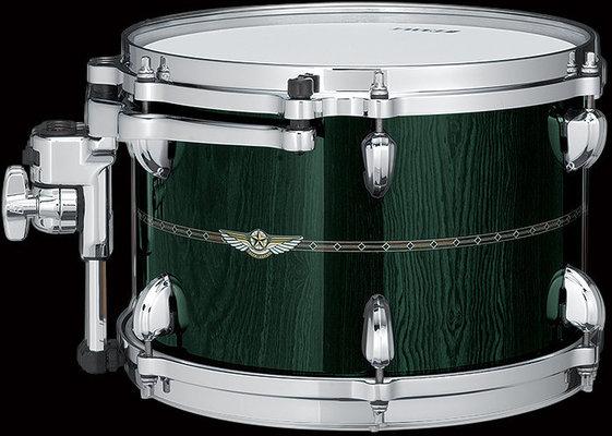 Tama Star Bubinga 6-piece Shell Kit, Dark Green Cordia