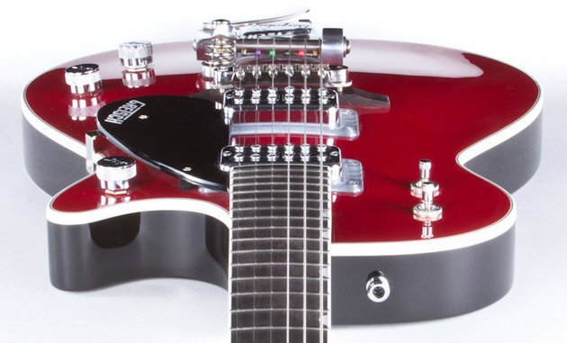 Gretsch G6131T-TVP Power Jet Firebird Red