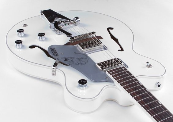 Gretsch G6137TCB Panther White