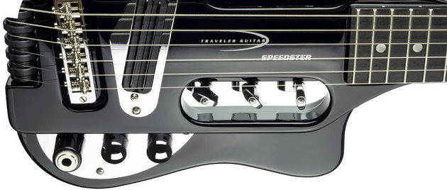 Traveler Guitar Traveler Speedster Gloss Black