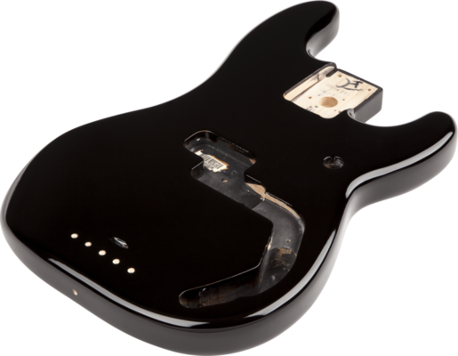 Fender Precision Bass Body (Vintage Bridge) - Black