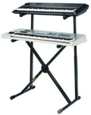 Hercules KS210B Dual Keyboard X Stand