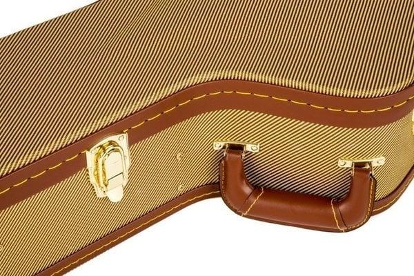 Fender Tweed Arch Top Jumbo Guitar Case