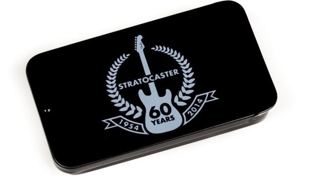 Fender 60th Anniversary Stratocaster Pick Tin