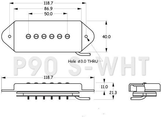 Partsland P90S-IV-NECK