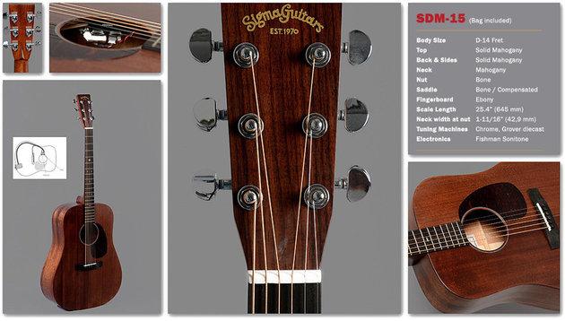 Sigma Guitars SDM-15