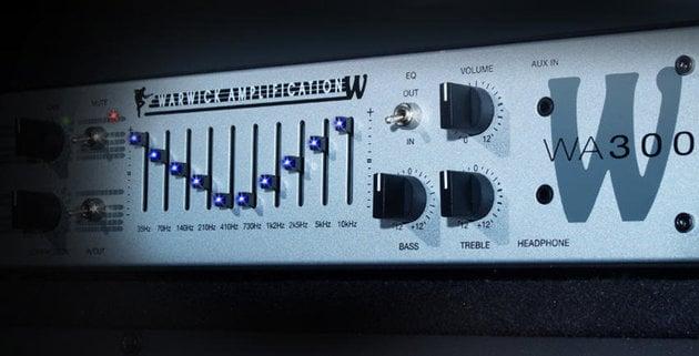 Warwick WA 300 Bass Head
