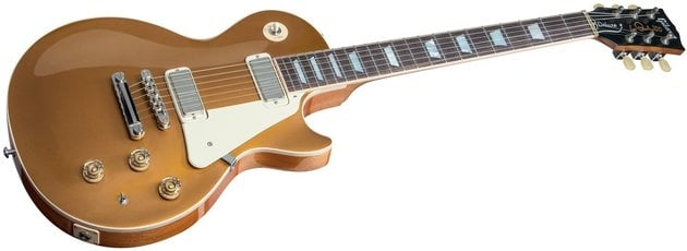 Gibson Les Paul Deluxe Metallic 2015 Gold Top