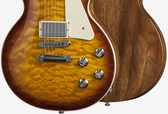 Gibson Les Paul Standard Premium Quilt 2015 Honeyburst Perimeter